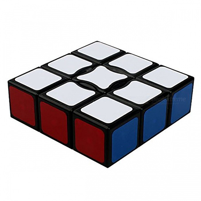 QiYi 1x3x3 Speed Smooth Magic Cube, Finger Puzzle Toy 19x57x57mm - BlackMagic IQ Cubes<br>ColorBlack BottomMaterialABSQuantity1 pieceTypeOthers,1x3x3Suitable Age 3-4 years,5-7 years,8-11 years,12-15 years,Grown upsPacking List1 x Magic Cube<br>