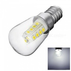 YWXLight Mini E14 2W Refrigerator Dimming LED Bulb, AC 220V Bright Indoor Lamp - Cold White