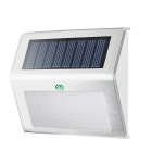 YWXLight Outdoor LED Solar Powered Energy Light, Sun Power Waterproof Path Street Stair Wall Lamp - Warm White