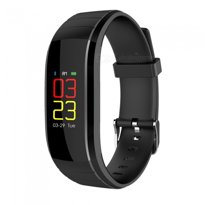 UP-X Color Screen Fitsness Smart Bracelet w/ Dynamic Heart Rate Blood Pressure Monitoring, Calls, Message Reminder - BlackSmart Bracelets<br>ColorBlackModelUPXQuantity1 piecesMaterialTPUWater-proofIP67Bluetooth VersionBluetooth V4.0Touch Screen TypeIPSOperating SystemAndroid 4.4,iOSCompatible OSAndroid  IOSBattery Capacity80 mAhBattery TypeLi-ion batteryStandby Time20 daysPacking List1 x Smart Wristband1 x Charging Cable1 x User Manual<br>