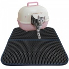 Double-Layer-Honeycomb-Cat-Litter-Trapper-Mat-Non-toxic-EVA-Mat-grey