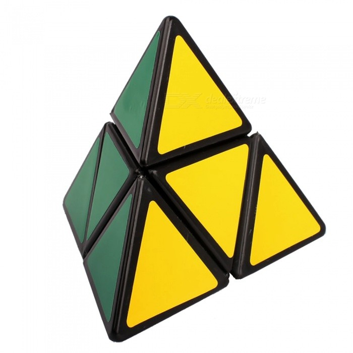 QiYi MoZhi Pyraminx Speed Cube Triangle Magic Cube Finger Puzzle Toys Side Length 88mmMagic IQ Cubes<br>ColorColorfulMaterialABSQuantity1 pieceTypeOthersSuitable Age 3-4 years,5-7 years,8-11 years,12-15 years,Grown upsPacking List1 x Magic Cube<br>