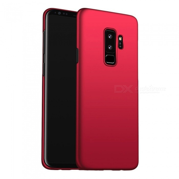 Naxtop PC Hard Protective Back Case for Samsung Galaxy S9+ - RedPlastic Cases<br>ColorRedModelN/AMaterialPCQuantity1 pieceShade Of ColorRedFeaturesAnti-slip,Dust-proof,Shock-proof,Abrasion resistanceCompatible ModelsSamsung Galaxy S9+Packing List1 x Case<br>