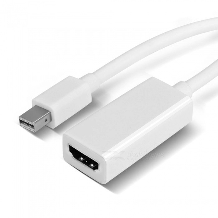 Mini DisplayPort to HDMI Adapter for Apple Macbook - BlackAV Adapters And Converters<br>ColorblackMaterialPVCQuantity1 pieceConnectorHDMIPower AdapterOthers,Mini DisplayPort to hdmiPacking List1 x Adapter<br>