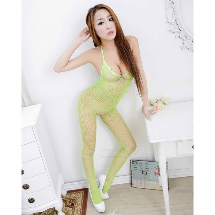 1eb528d16 Fanshimite Sexy Lingeries Translucent Crotchless Teddies for Women - Free  shipping - DealExtreme