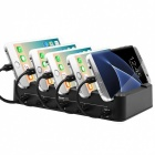 Measy-Cell-Phone-Charging-Station-with-USB-Type-C-Port-Smart-5-Port-Desktop-USB-Charging-Station-Dock-Organizer-(US-plug)