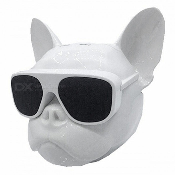 Creative Cool Skull Gog Head Style Bluetooth Stereo Speaker - White (Size S)Bluetooth Speakers<br>ColorwhiteMaterialElectroplating plasticQuantity1 pieceShade Of ColorWhiteBluetooth HandsfreeYesBluetooth VersionOthersOperating Range10MPacking List1 x Instruction1 x Cable1 x Bluetooth speaker<br>