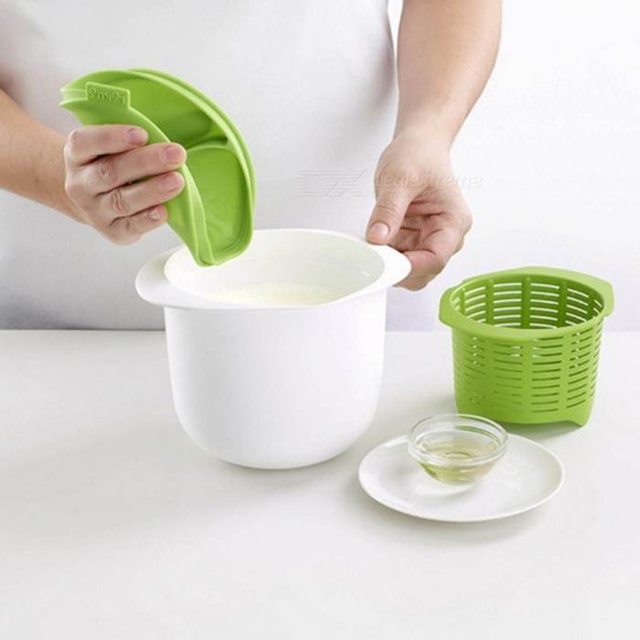 Microwave Plastic Healthy Cheese Maker For Making Cheese Contains Recipes Home Cooking Kitchen Dessert Pastry Pie Tool