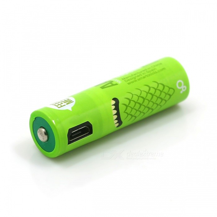 Micro USB Rechargeable AA Battery - 4PCS - Free Shipping
