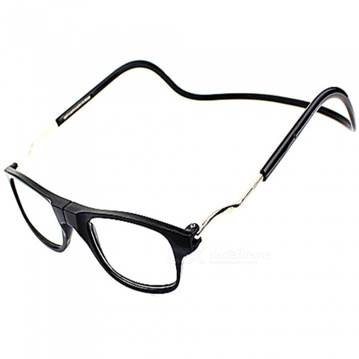 Magnetic Adsorption Neck Hanging 1.5 Diopter Reading Glasses Presbyopic Glasses for the ElderlyReading Eyeglasses<br>Lens1.5 diopterQuantity1 pieceMaterialPCFrame MaterialPCLens MaterialResinLens Power1.5 dioptersGenderUnisexSuitable forOthers,The old manFrame Height3.5 cmLens Width5.2 cmBridge Width1.7 cmOverall Width of Frame15 cmPacking List1 x Glasses<br>
