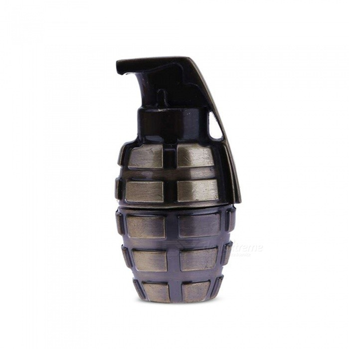 Retro Style Grenade Shape USB 2.0 U Disk, USB Flash Drive 16GB - Copper16GB USB Flash Drives<br>Capacity16GBModelN/AMaterialMetalQuantity1 setShade Of ColorTransparentMax Read Speed8 - 20 MB / sMax Write Speed4 - 8MB / sUSBUSB 2.0With IndicatorNoPacking List1 x USB 2.0 Personality U Disk<br>