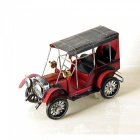 ZHAOYAO-Vintage-and-Nostalgic-Iron-Metal-Car-Model-Decoration-Red