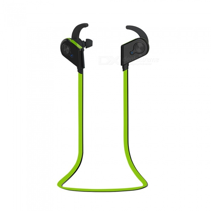 OJADE Outdoor Sport Bluetooth Wireless Magnetic Adsorption Stereo Neckband Headset With Microphone - GreenHeadphones<br>ColorGREENBrandOthers,ojadeMaterialABS + metalQuantity1 pieceConnectionBluetoothBluetooth VersionBluetooth V4.1Headphone StyleEarbudWaterproof LevelOthersApplicable ProductsUniversalHeadphone FeaturesPhone Control,Long Time Standby,Magnetic Adsorption,Volume Control,With Microphone,For Sports &amp; ExerciseSupport Memory CardNoSupport Apt-XNoPacking List1 x Headset<br>