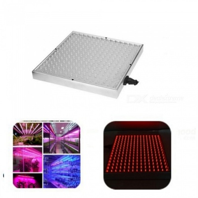 ZHAOYAO Red LED Plant Growth Lamp, 225-LED 15W Greenhouse Vegetable Plant Fleshy Flower Fill Light