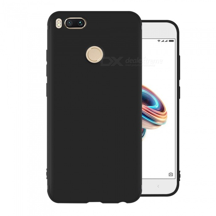 Dayspirit Protective Matte Frosted TPU Back Case for Xiaomi Mi A1 (5X) - BlackTPU Cases<br>ColorBlackModelN/AMaterialTPUQuantity1 pieceShade Of ColorBlackCompatible ModelsXiaomi Mi A1 (5X)Packing List1 x Case<br>
