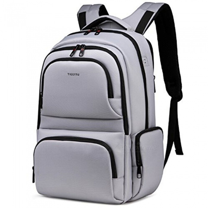 Tigernu Casual Waterproof 26L Hiking Backpack, School Book Travel Bag for Outdoor - Silver (L)ColorSilver (L)ModelN/AQuantity1 pieceMaterialPolyesterSizeOthers,49x29x19cmCapacityOthers,26LGenderUnisexBest UseTravelPacking List1 x Backpack<br>