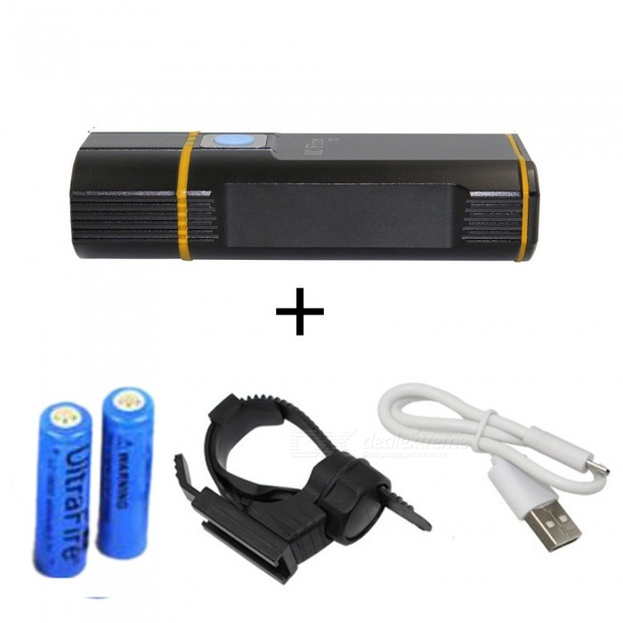 ZHAOYAO-XM-L2-LED-Headlight-Long-range-Bicycle-Bike-Light-USB-Rechargeable-Flashligh-with-Two-18650-Batteries