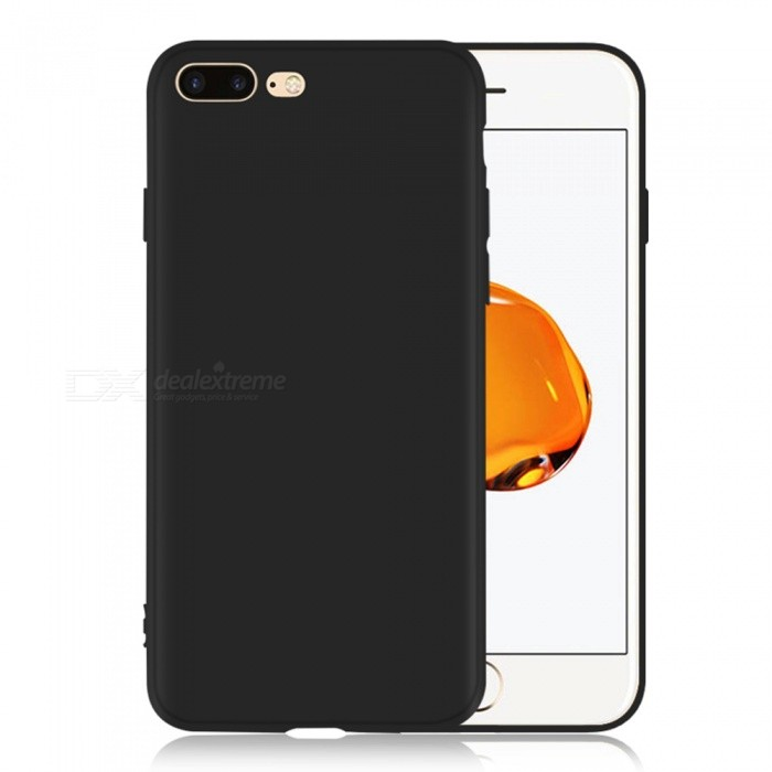Dayspirit Protective Matte Frosted TPU Back Case for IPHONE 7 PLUS - BlackTPU Cases<br>ColorBlackModelN/AMaterialTPUQuantity1 pieceShade Of ColorBlackCompatible ModelsIPHONE 7 PLUSPacking List1 x Case<br>
