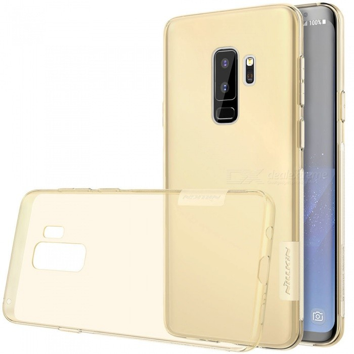Nillkin Soft TPU Protective Cover Case for Samsung Galaxy S9 Plus - BrownTPU Cases<br>ColorBrownModelSamsung Galaxy S9+ModelNSXS9PLBS02Quantity1 pieceShade Of ColorBrownCompatible ModelsSamsung Galaxy S9+DesignSolid Color,TransparentStyleBack Cases,Full Body CasesPacking List1 x Nillkin Nature TPU Case<br>