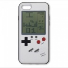Retro-Style-Tetris-Game-Console-Phone-Shell-Case-Back-Cover-for-Apple-IPHONE-7-PLUS-8-PLUS-White