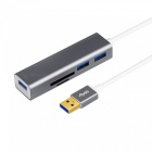 USB-30-Card-Reader-High-Speed-USB-HUB-Multifunction-SDTF-Card-Reader-02-Meters-Cable