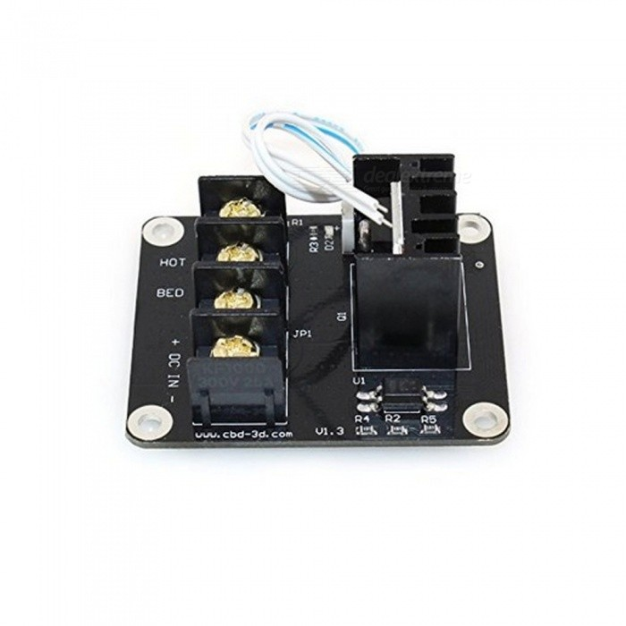 3d Printer Board High Power Heat Bed Module Mos Tube Power Expansion Board High Current Load Accessories Integrated Circuits