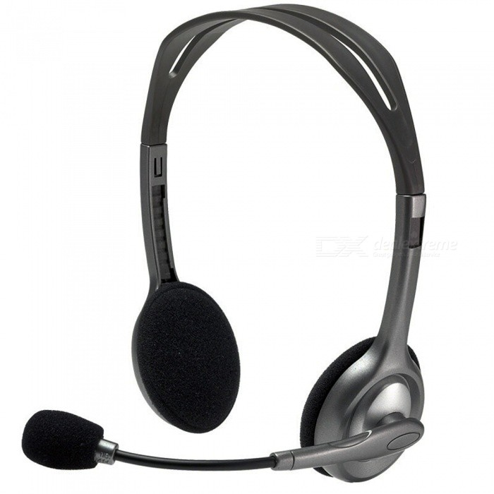 Buy Kitbon Stereo Headset Headband Headphone w/ Boom Microphone for K12 School Classroom and Education with Litecoins with Free Shipping on Gipsybee.com
