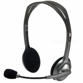 Kitbon Stereo Headset Headband Headphone w/ Boom Microphone for K12 School Classroom and Education