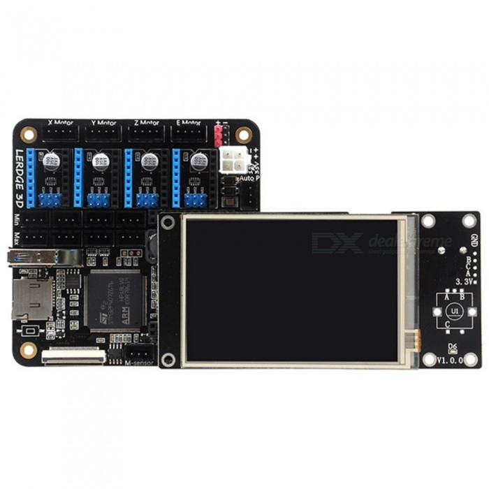 """3D Printer Controller Board for Reprap 3D Printer Motherboard with ARM 32Bit Mainboard Control, 3.5"""" Touch Screen"""