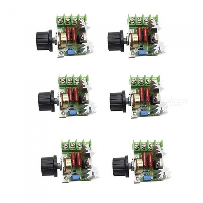 ZHAOYAO 2000W Thyristor High Power Electronic Voltage Regulation Boards