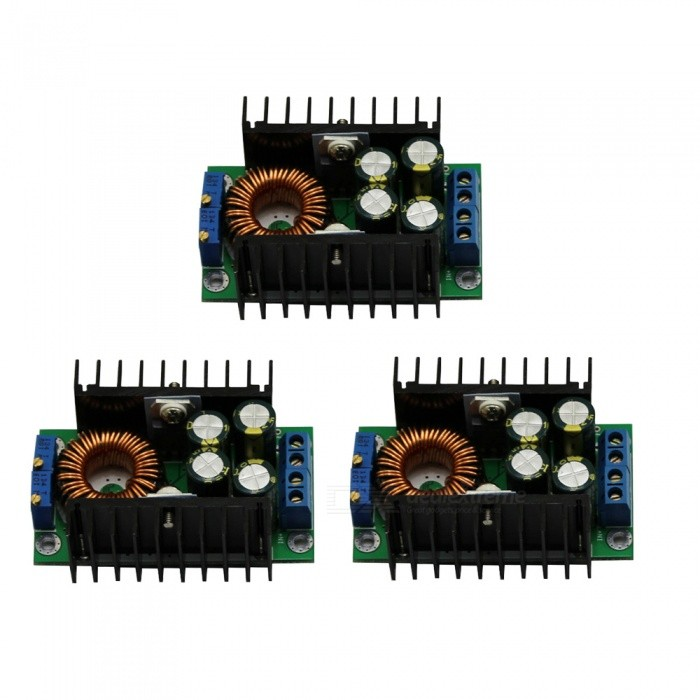 DC-DC Step Down Buck Adjustable Constant Voltage Current High Power 12A Solar Charging LED Driver Car Module Converter