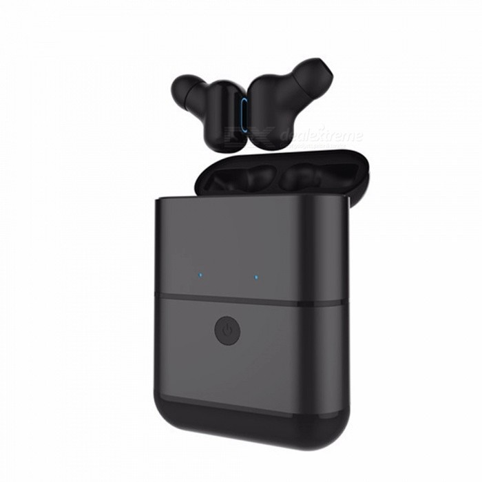 OJADE X2-TWS Mini Invisual Style Bluetooth Wireless Headset Earbuds with Charging Box (1 Pair)Other Bluetooth Devices<br>ColorBlackModelX2-TWSMaterialOtherQuantity1 setShade Of ColorBlackBluetooth VersionOthers,Bluetooth V4.2Operating Range10mPacking List1 x Pairs of headphones1 x Storage box<br>
