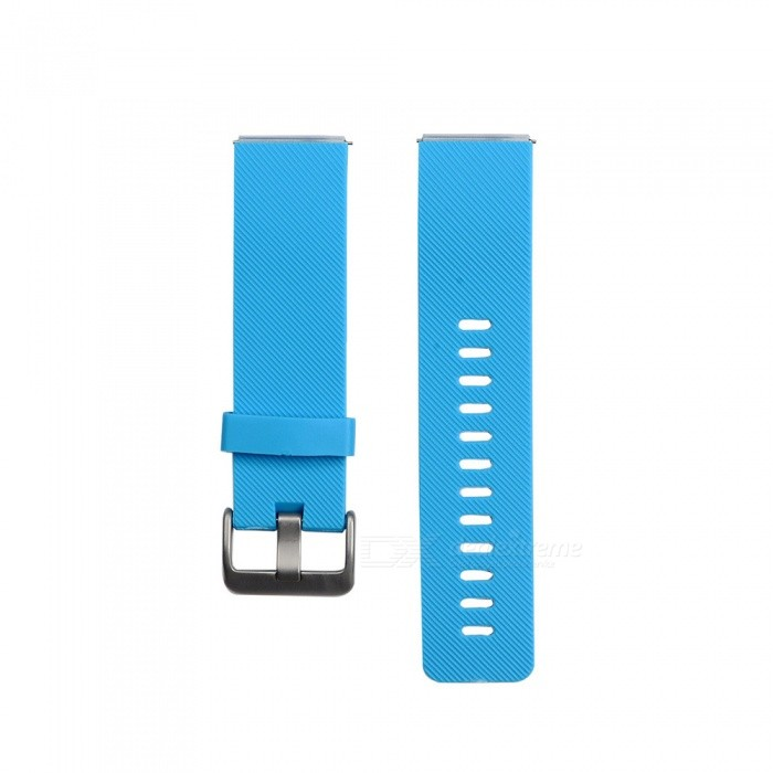 Smart Watch Color TPE Strap For Fitbit Blaze - BlueWearable Device Accessories<br>ColorBlueModelN/AQuantity1 setMaterialTPEPacking List1 x Strap (12.7cm)1 x Strap (10.6cm)<br>