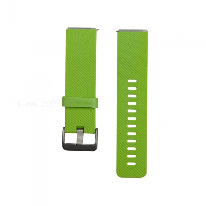 Smart Watch Color TPE Strap For Fitbit Blaze - GreenWearable Device Accessories<br>ColorGreenModelN/AQuantity1 setMaterialTPEPacking List1 x Strap (12.7cm)1 x Strap (10.6cm)<br>