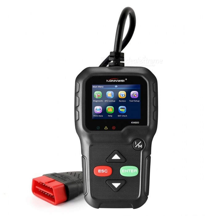 Konnwei KW680 OBD2 Automotive Scanner OBD2 Diagnostic Tool OBDII CAN OBD 2 Autoscanner