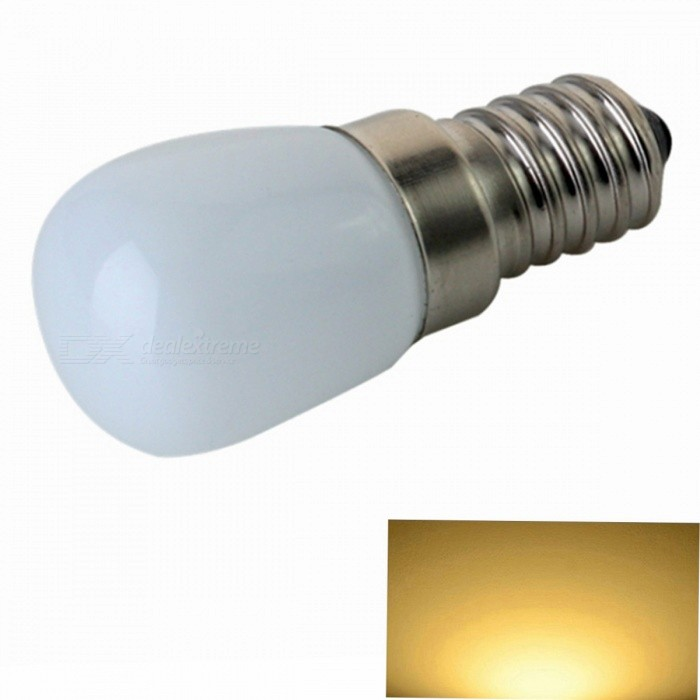 ZHISHUNJIA E14 3W 200lm Mini Warm white Light Refrigerator Lamp (110~130V)E14<br>Plug TypeE14 warm white 110VModelE14-3MaterialGlass + COBForm  ColorWhiteQuantity1 setPower3WRated VoltageAC 110-130 VConnector TypeE14Chip BrandOthers,COBChip TypeCOBEmitter TypeLEDTotal Emitters1Theoretical Lumens300 lumensActual Lumens200 lumensColor Temperature3000KDimmableNoBeam Angle360 °Packing List1 x Light bulb<br>
