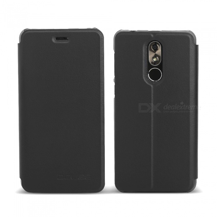 OCUBE Protective Flip-open PU Leather Case for Cubot R9 5.0 Inches - BlackLeather Cases<br>ColorBlackModelCubot R9MaterialPC+PUQuantity1 pieceShade Of ColorBlackCompatible ModelsCubot R9FeaturesAnti-slip,Dust-proof,Shock-proof,Abrasion resistancePacking List1 x Phone Case<br>