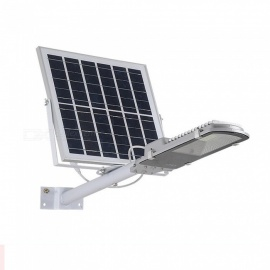 ZHAOYAO 10W Solar Powered Outdoor Smart Light Activated LED Street Lamp