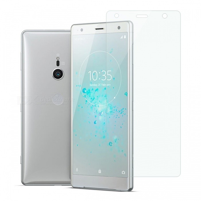 Dayspirit Tempered Glass Screen Protector for Sony Xperia XZ2Screen Protectors<br>ColorTransparentModelN/AMaterialTempered glassQuantity1 setCompatible ModelsSony Xperia XZ2FeaturesTempered glassPacking List1 x Tempered glass screen protector1 x Dust cleaning film 1 x Alcohol prep pad<br>