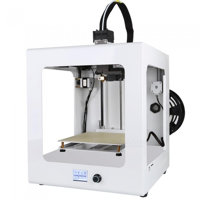 High Precision Creality 3D Auto Leveling CR-2020 Education Person Full Assembled 3D Printer3D Printers, 3D Printer Kits<br>ColorWhiteModelCR-2020Quantity1 setMaterialAluminumEnglish Manual / SpecYesDownload Link   noPacking ListFull Assembled CR-2020+free 200g filament+8GB SD card+reader+Tools+Hotbed<br>