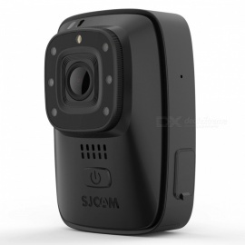SJCAM A10 (M40) Portable Body Camera Wearable Infrared Security Camera - Black