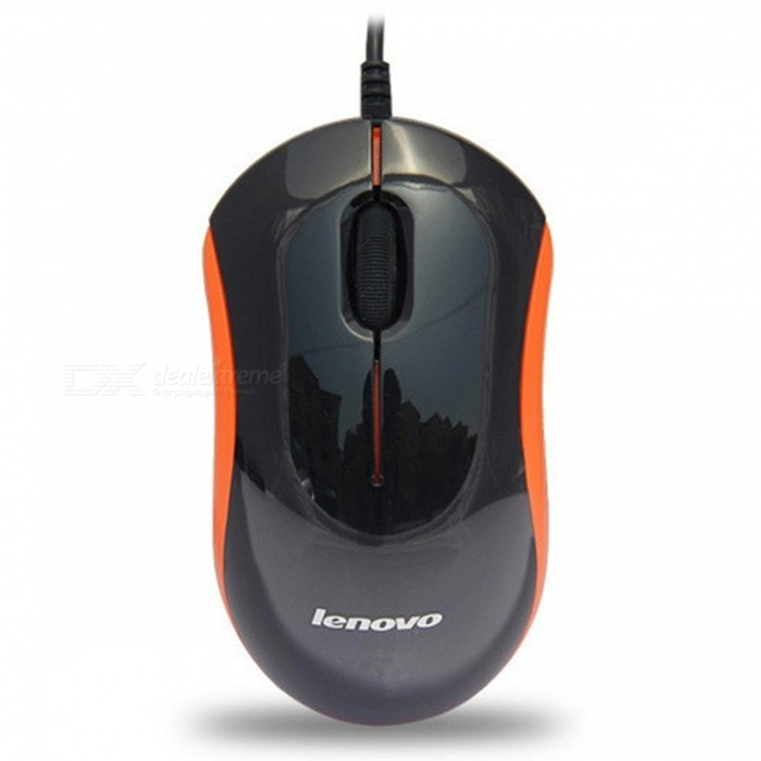 LENOVO M100 USB 2.0 Wired Mouse 1000dpi - Black + OrangeUSB Mouse<br>ColorBlack + OrangeModelM100Quantity1 pieceMaterialABSShade Of ColorBlackInterfaceUSB 2.0Wireless or WiredWiredOptical TypeLEDPowered ByUSBBattery included or notNoSupports SystemWin xp,Win 2000,Win 2008,Win vista,Win7 32,Win7 64,Win8 32,Win8 64,MAC OS X,IOS,Linux,Android 2.x,Android 4.xCable Length60 cmPacking List1 x Mouse<br>