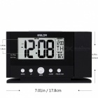 Baldr-Digital-Projection-Clock-Ceiling-Wall-Alarm-Snooze-Timer-Watch-Constant-Time-Projector-LCD-Thermometer-Clock-(US-Plug)