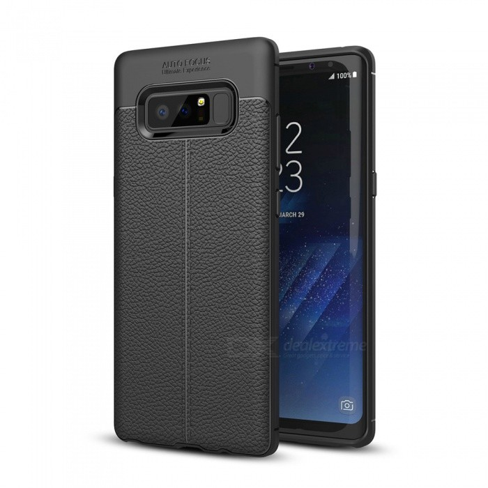 Dayspirit Lichdee Pattern Protective TPU Back Cover Case for Samsung Galaxy Note8 - BlackTPU Cases<br>ColorBlackModelN/AMaterialTPUQuantity1 pieceShade Of ColorBlackCompatible ModelsSamsung Galaxy Note8Packing List1 x Case<br>