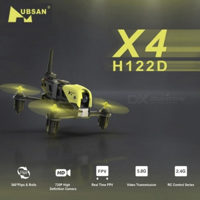 Hubsan H122D X4 STORM 5.8G FPV Micro Racing Drone Quadcopter with 720P Camera