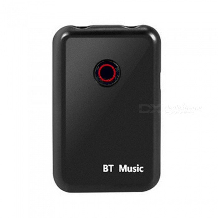 Bluetooth Audio Transmitter / Receiver Two in One Wireless Adapter - BlackOther Bluetooth Devices<br>ColorBlackMaterialABSQuantity1 pieceShade Of ColorBlackBluetooth VersionOthers,Bluetooth V4.2Operating Range20mBattery TypeLi-ion batteryBuilt-in Battery Capacity 60 mAhPacking List1 x 2-in 1 Bluetooth Transmitter &amp; Receiver1 x 3.5mm Audio Cable1 x USB Charging Cable1 x User Manual<br>