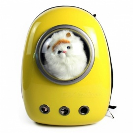 Pet-Carrying-Out-Astronaut-Space-Style-PC-Breathable-Bag-Backpack-for-Dog-Cat-Yellow