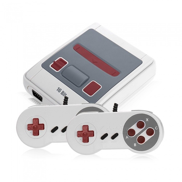 Image of Mini Video Game Console,16-Bit Retro Handheld Game Player with Built-in 167 Classic Games