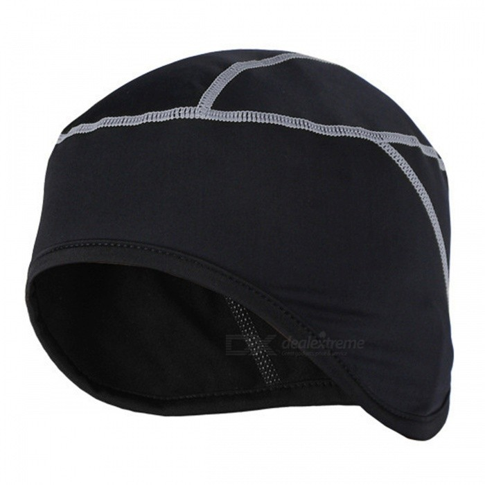 Buy ARSUXEO Winter Warm Up Fleece Sports Running Cycling Cap, MTB Bike Bicycle Hat - Gray with Litecoins with Free Shipping on Gipsybee.com