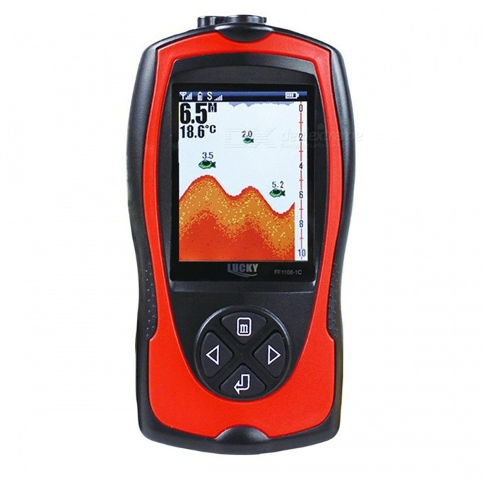 LUCKY FF1108-1CW Wireless Sensor Fish Finder Monitor